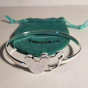 Tiffany Mickey Mouse Cuff Bracelet